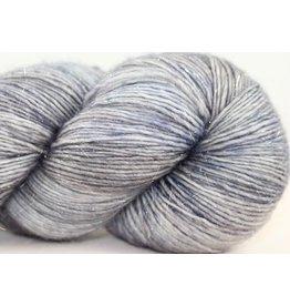 Madelinetosh Tosh Merino Light - Silver Glitter, Mockingjay