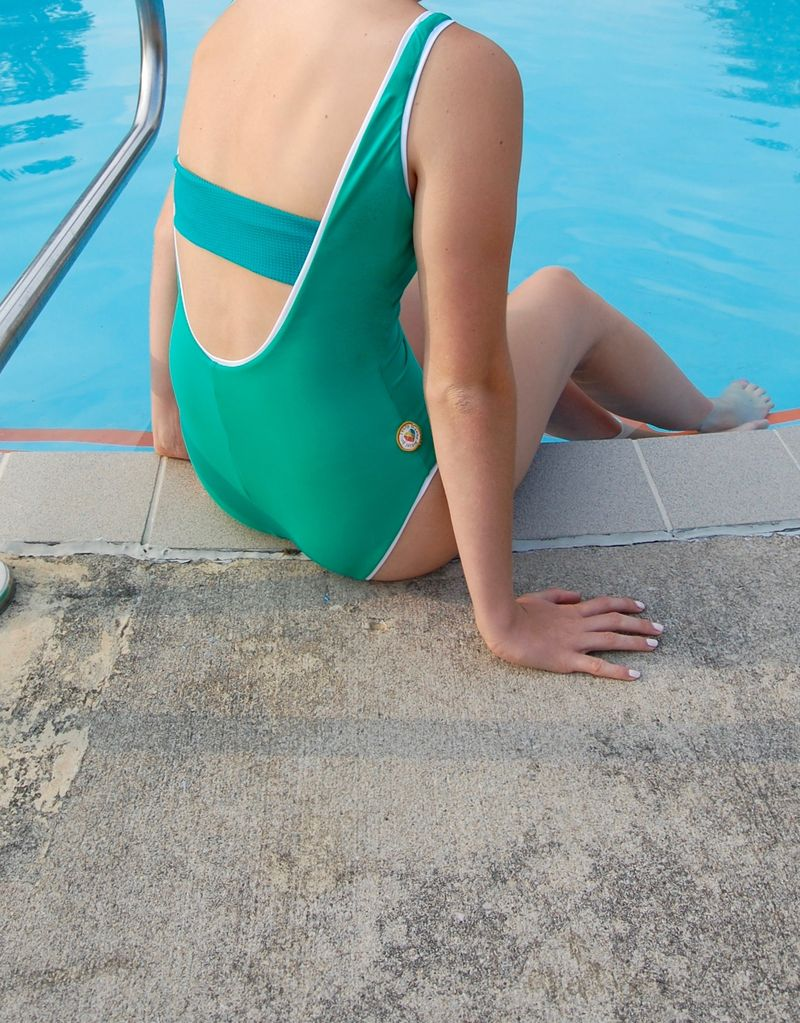 Twb Collection The Laps Suit in Green – LAPS