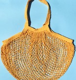 ACCESSART Crochet Tote in Sunflower Yellow