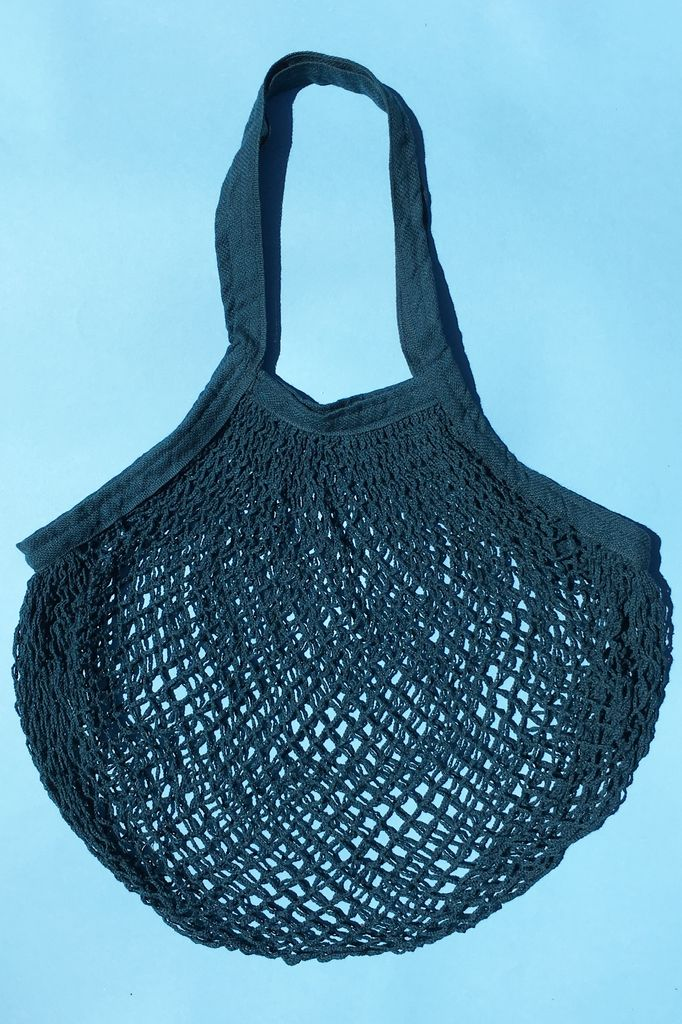 ACCESSART Crochet Tote in Teal