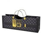 Accessories Black Plush Purse 1bt Gift Bag