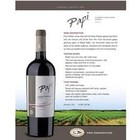 Wines and sakes Maule Valley Cabernet Sauvignon Malbec 2013 Papi Reserve Selection