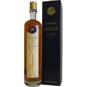 Liquors & Liqueurs L'Heraud Cuvee 10yr Cognac Petite Champagne 750ml (84 Proof)
