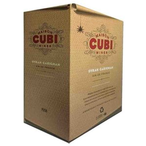 Wines and sakes Pays D'oc Red 3.0 Liter Box 2017 Maison Cubi