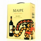 Wines and sakes Mendoza-Argentina Malbec 3.0-Liter Box Wine 2015 Maipe