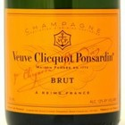 "Wines and sakes Champagne Brut NV Veuve Clicquot ""Yellow Label""  750ml"