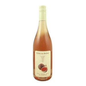 """Wines and sakes Cotes du Rhone Rose 2016 Domaine De La Bastide """"Figue"""""""