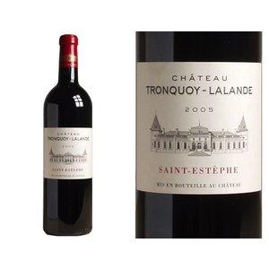 Wines and sakes Saint- Estephe 2005 Chateau Tronquoy Lalande
