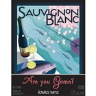 "Wines and sakes Victoria Sauvignon Blanc 2013 Fowles ""Are you game"""