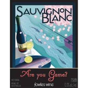 "Wines and sakes Victoria Sauvignon Blanc 2013 Fowles ""Are you game"" 750ml"