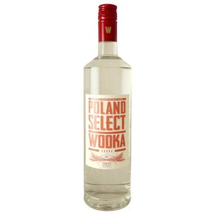 Liquors & Liqueurs Poland Select Wodka Vodka (80 Proof)  1L