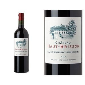 "Wines and sakes Saint-Émilion Grand Cru 2015 Chateau Haut-Brisson ""La Grave"""