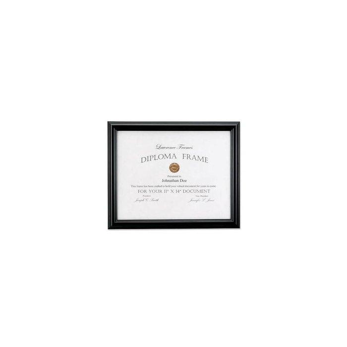 Lawrence Frames Black Diploma Frame, Domed Top,