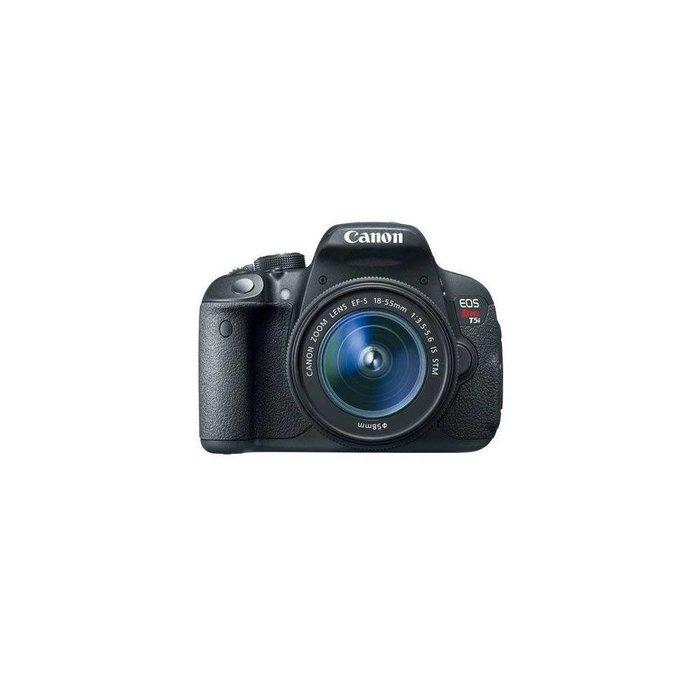Canon EOS Rebel T5i DSLR Camera with EF-S 18-55mm f/3.5-5.6 IS STM Lens
