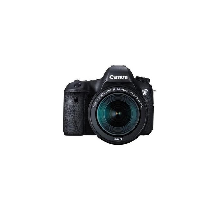 Canon EOS 6D DSLR Camera with EF 24-105mm F3.5-5.6 IS STM Lens
