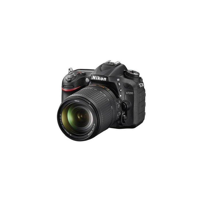 Nikon D7200 DX-Format DSLR Camera with AF-S DX NIKKOR 18-140mm f/3.5-5.6G ED VR Lens