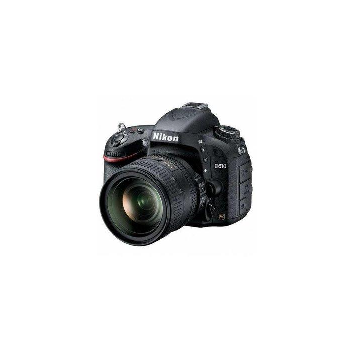 Nikon D610 FX-format Digital SLR Camera Kit with AF-S NIKKOR 24-85mm f/3.5-4.5G ED VR Lens