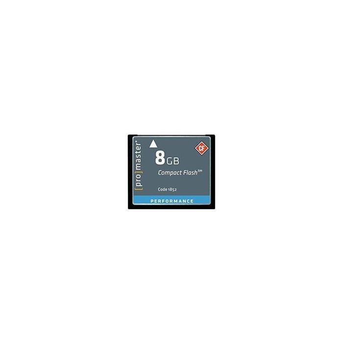 Promaster 8GB CF Memory Card