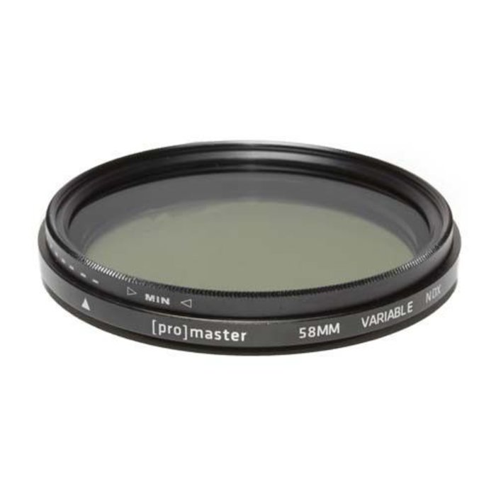 Promaster 72MM Variable ND Filter Standard