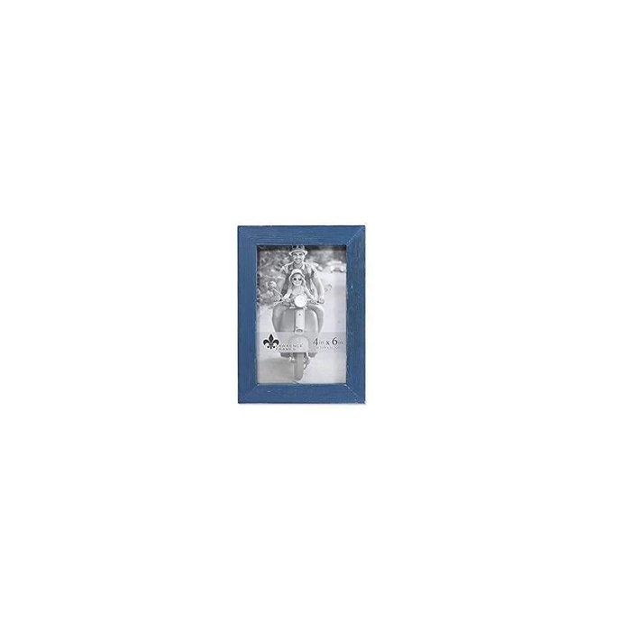 Lawrence Frame 4X6 Wood Blue (10.2 X15.2cm)