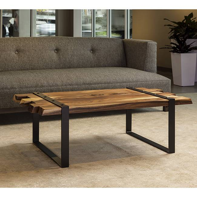acacia maxima coffee table - terramai pdx