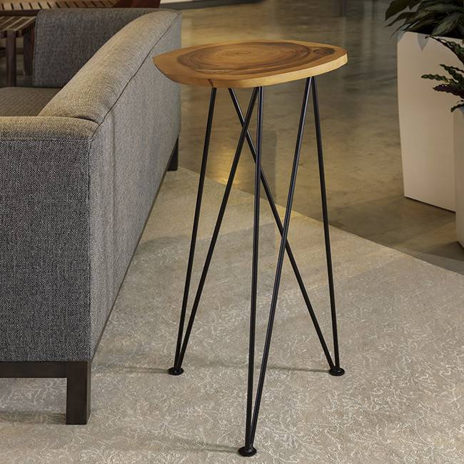 Acacia Freeform High Table