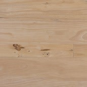 Closeout Material: Rubberwood Engineered - Hand Scraped - Unfinished 3,5,7in. Wide x 1-7ft Lengths