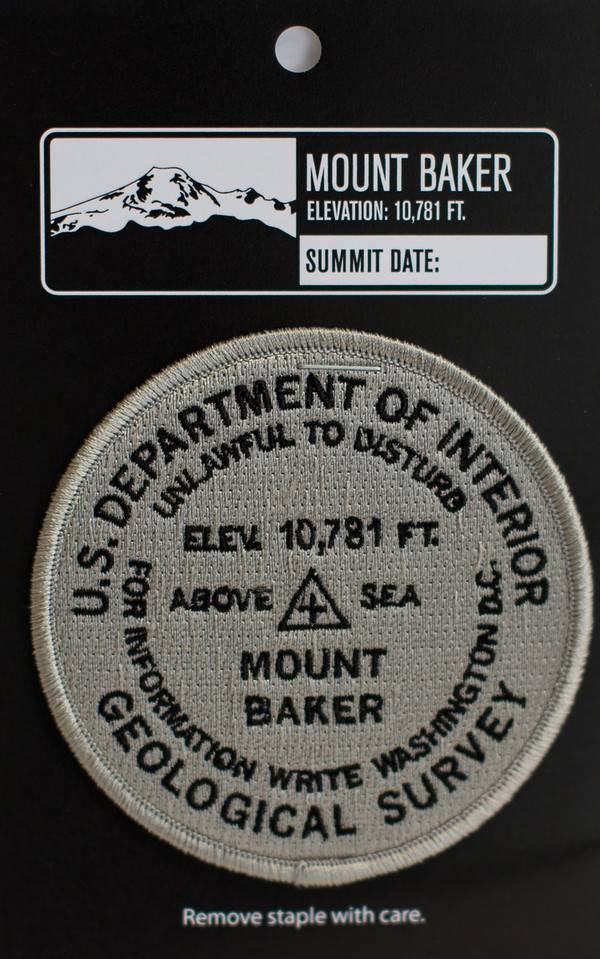 Mt Baker Patch Bench Mark