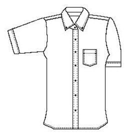 Girls Short Sleeve Oxford (School Apparel)