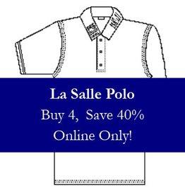 La Salle Mens Polo
