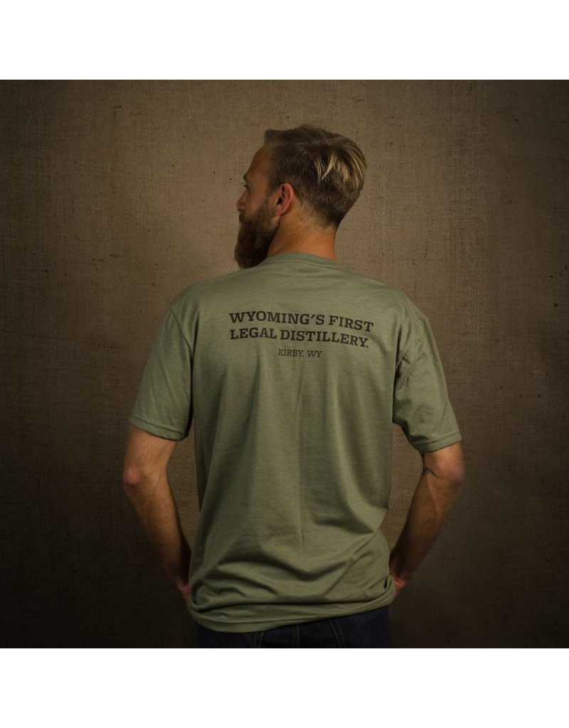 Tormack Men's Olive Crew T-Shirt