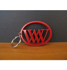 Blythe Living Metal Key Ring Fob