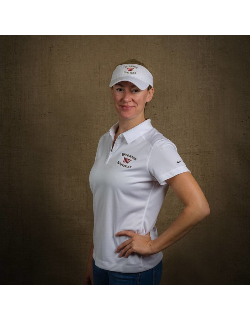 Nike Ladies Dri Fit Polo White XXL