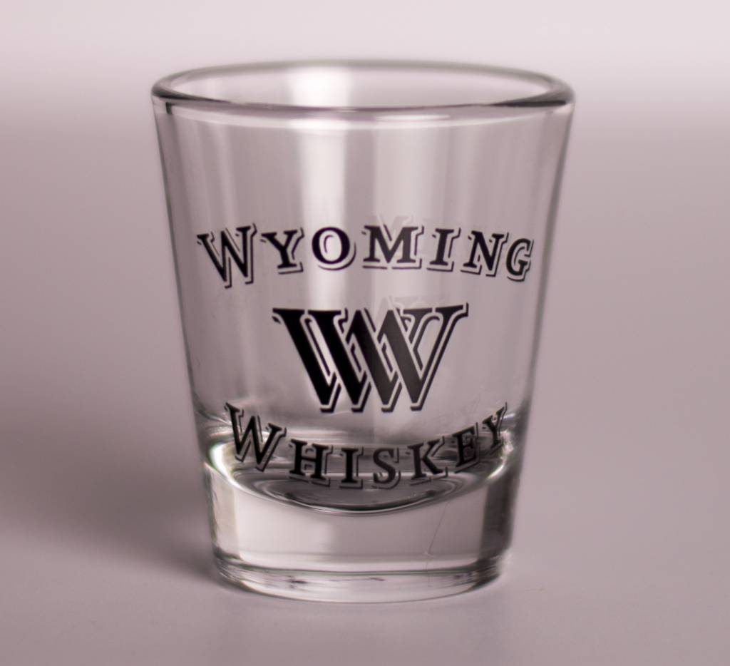 Black SHORT 2.5 oz. Shot Glass