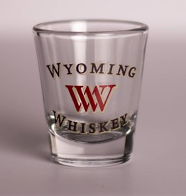 Boelter Boelter Wyoming Retailer Whiskey Shot Glass
