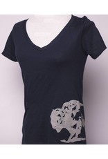 Tormack Ladies Navy Buffalo