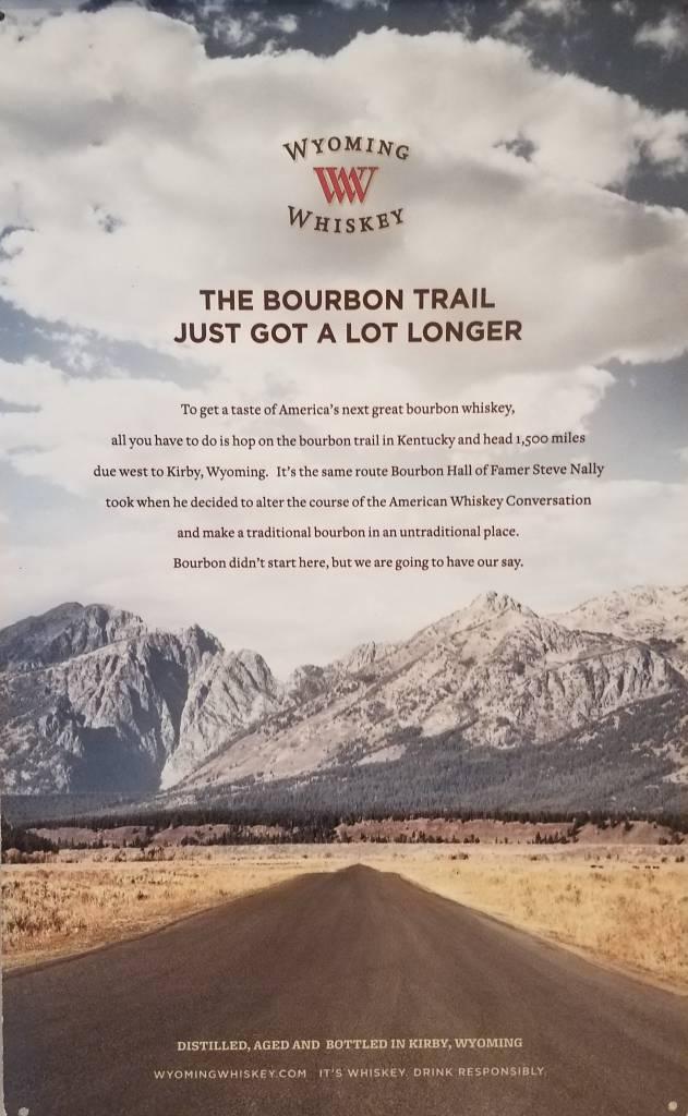 May Co Metal Tacker Sign Bourbon Trail