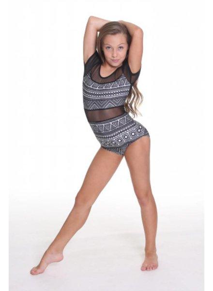 Just Dance Brittany 1 Piece Mesh Leotard