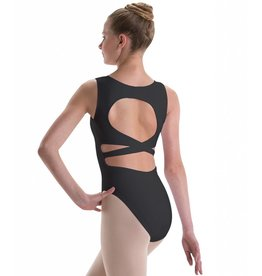 MotionWear Pinch Front with Circle-Cross-Back Leotard YOUTH
