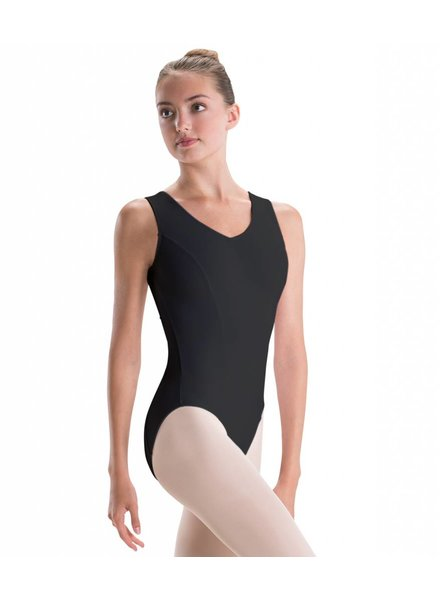 MotionWear Pinch-Front Leotard - Adult