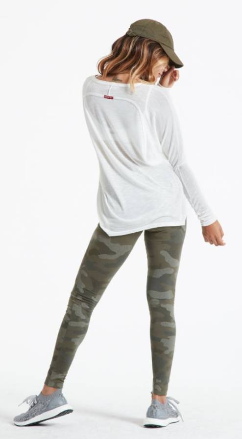 Hard Tail High Rise Camo Leggings