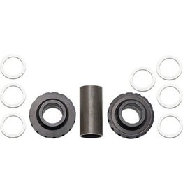 Profile Racing Profile Racing Euro Internal Bottom Bracket Set Black (no Spindle)