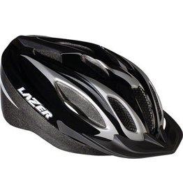 Lazer Lazer Compact Helmet: Black/Titanium XL
