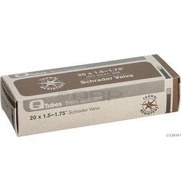 20x1.5-1.75 Q-Tubes Thorn Resistant Schrader Valve Tube 450g *Low Lead Valve*