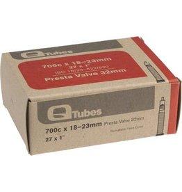Q-Tubes 700c x 18-23mm 32mm Presta Valve Tube 100g