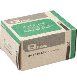 24x1.5-1.75 Q-Tubes Schrader Valve Tube 150g *Low Lead Valve*