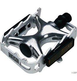 Dimension Compe Pedals Silver/Silver (alloy body)
