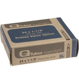 24x1-1/8 Q-Tubes Superlight 32mm Presta Valve Tube
