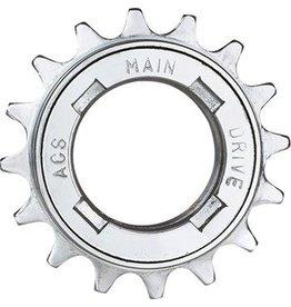 "ACS ACS Main Drive Freewheel, 18t 1/8"" Silver"