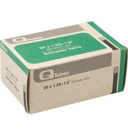 20x1.25-1.5 Q-Tubes Schrader Valve Tube 98g *Low Lead Valve*